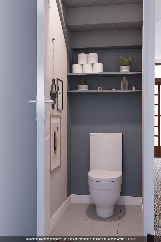 146 Best Toilette WC Styl S Images On Pinterest Bathroom Half Idee ...