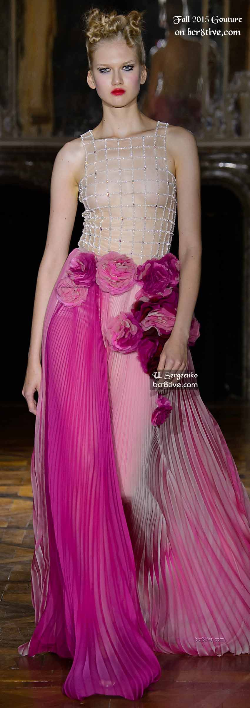 The Best Haute Couture Fashion of Fall 2015-16   Elegancia, Vestidos ...