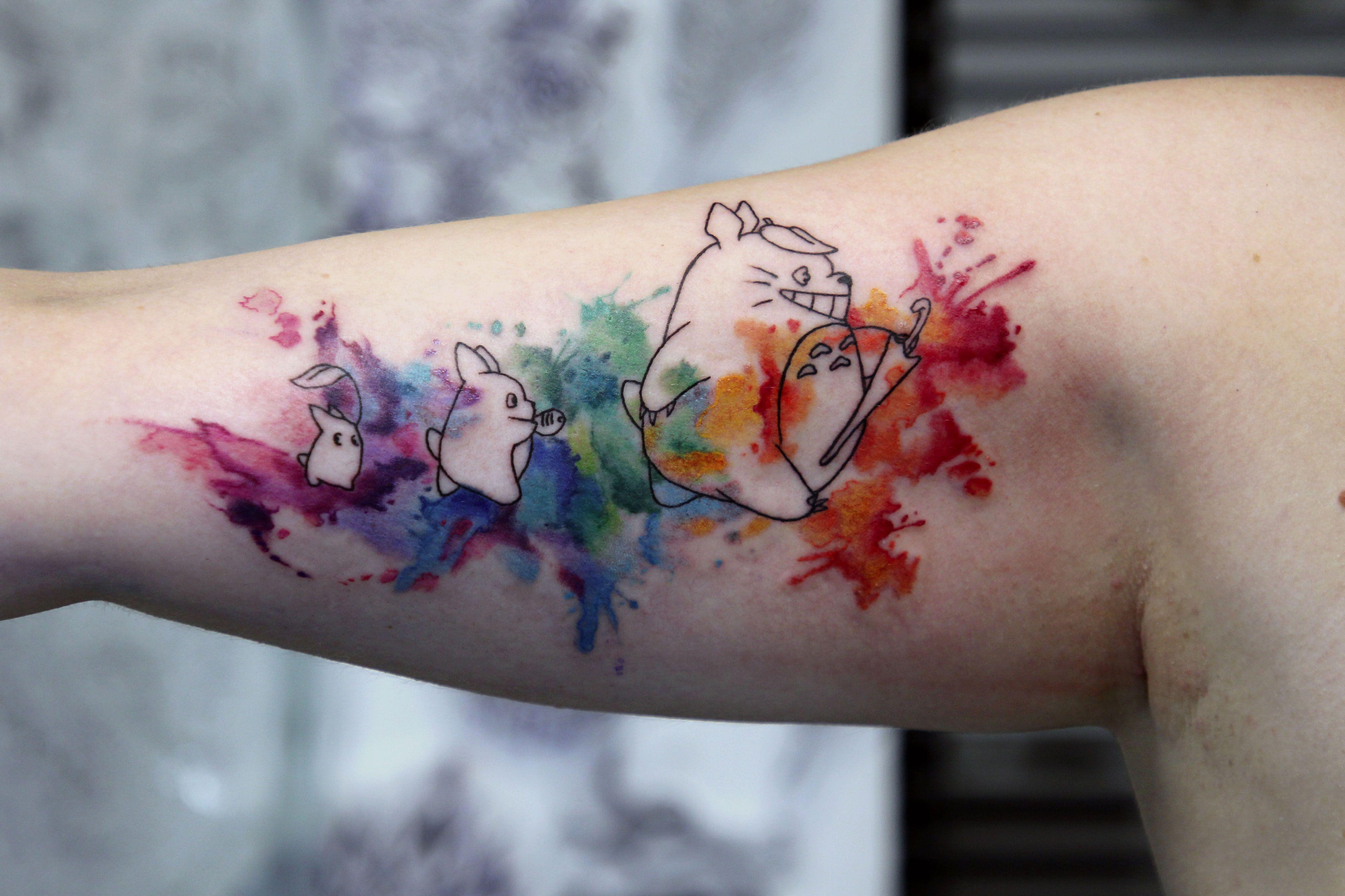 Epingle Par Soul Vision Tattoo Sur Watercolor Tattoo Paris