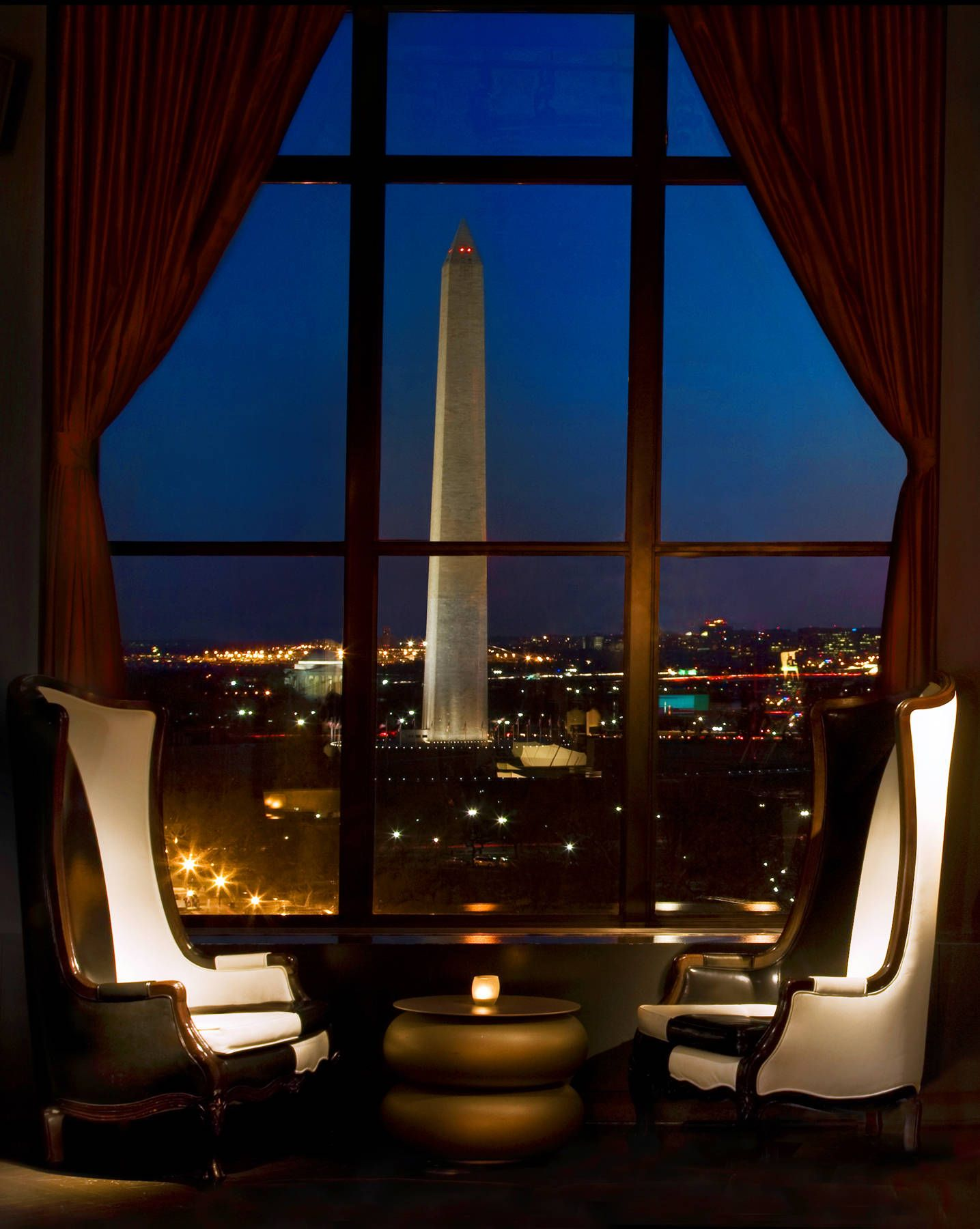 The Rooftop Bar At W Hotel In Washington Dc Offers One Of Best