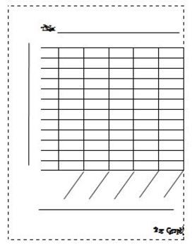 Free Printable Blank Bar Graph Worksheets