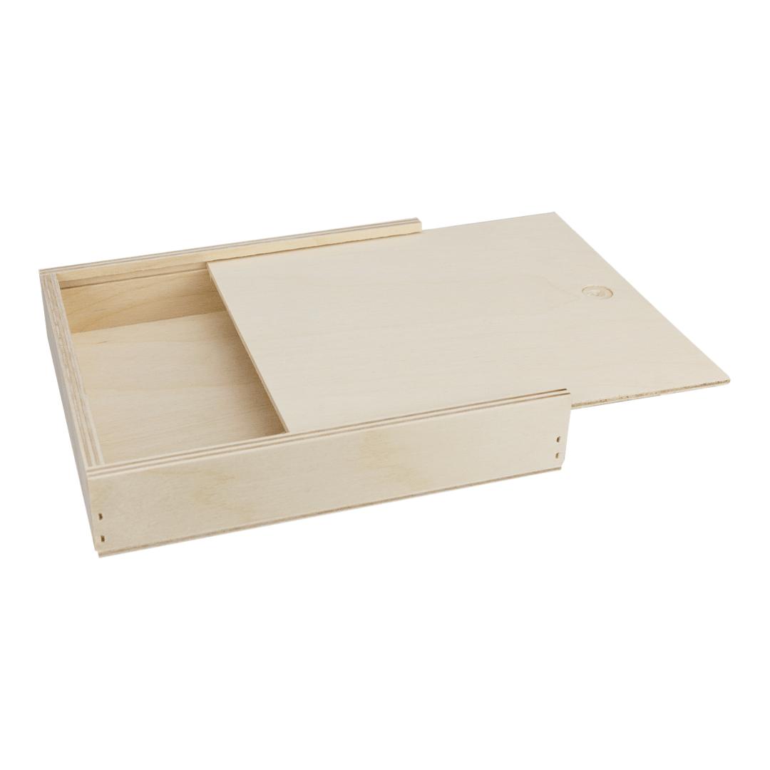 Holzbox 145 X 128 X 20 Mm Schiebedeckel Birke Holzschachtel Holzschachtel Holzkiste Mit Deckel Holzschatulle