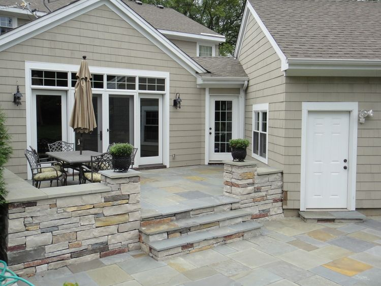 Incroyable 5 Stunning Natural Stone Patio Designs