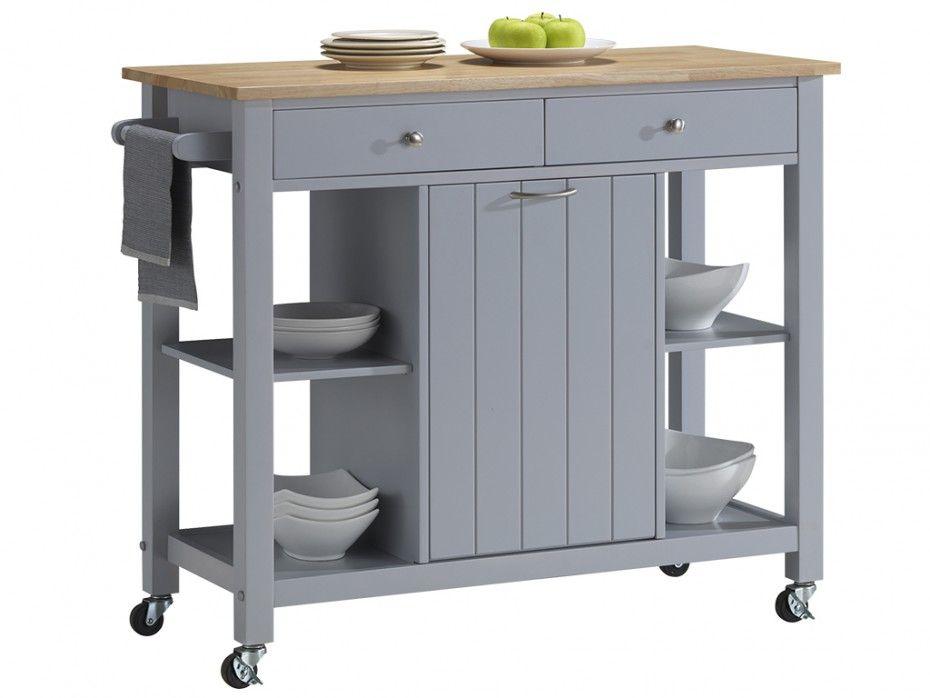 desserte de cuisine roulettes haley 1 porte 2 tiroirs h v a frakkland b pinterest. Black Bedroom Furniture Sets. Home Design Ideas