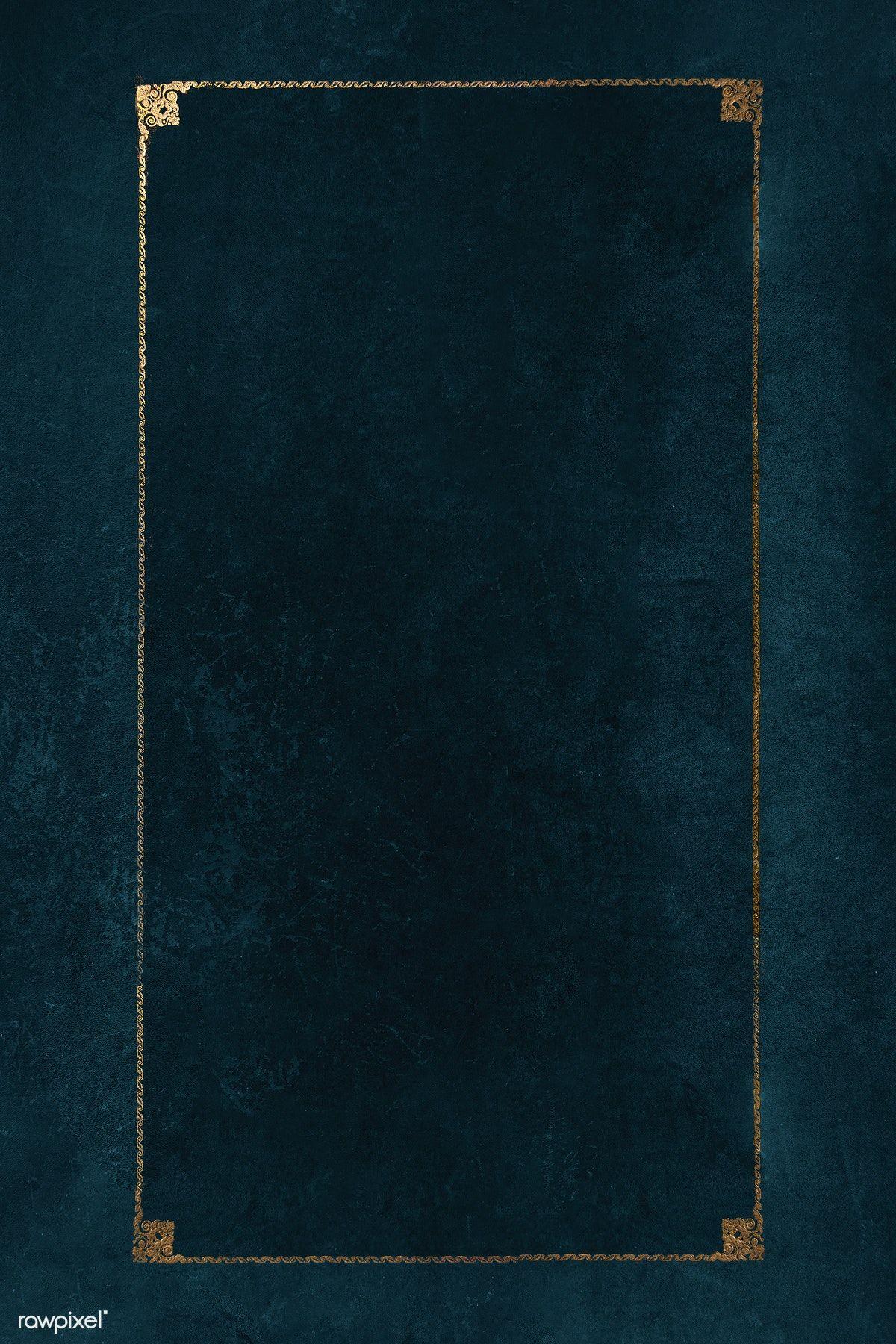 Download premium psd of Blank golden frame mockup design
