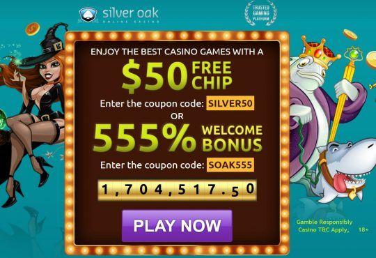 Silver Oak Casino No Deposit Coupon Codes