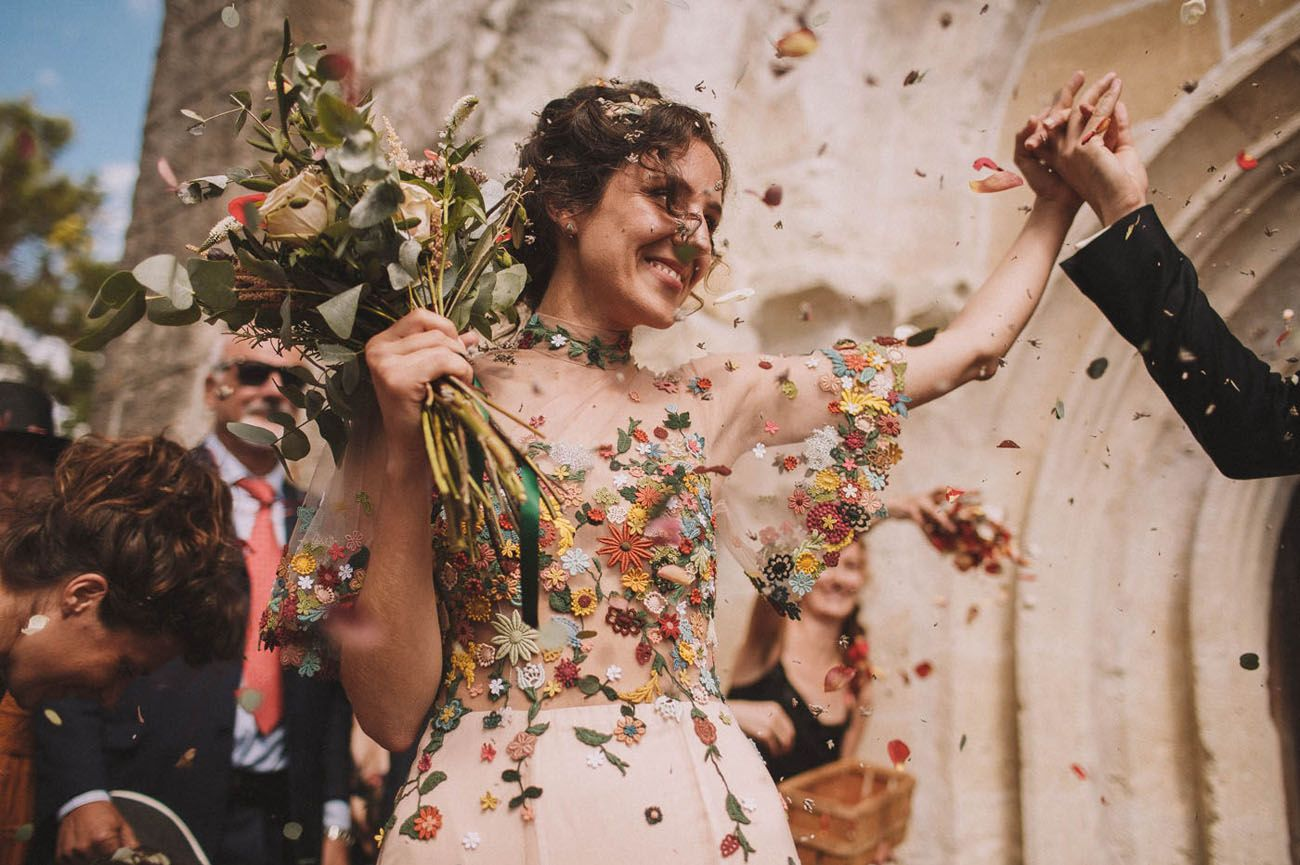 Iranian-Inspired Wedding in the French Countryside