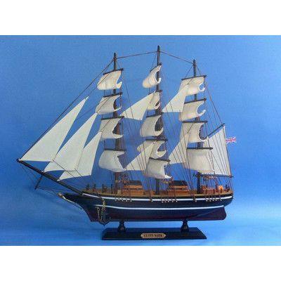 Handcrafted Nautical Decor Cutty Sark Model Ship Model Ships Clipper Ship Model Boats