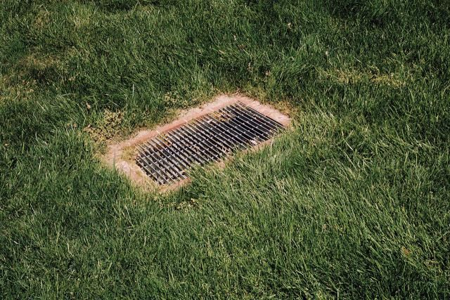 Causes And Solutions For Standing Water In A Yard Dry Well Surface Water Drainage Yard Drainage