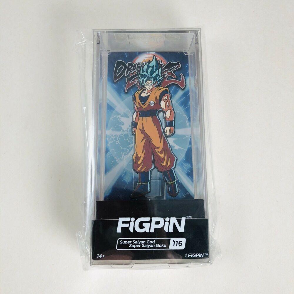 FiGPiN Dragon Ball Super Broly Movie SSG Vegeta #192-1st Edition Enamel Pin