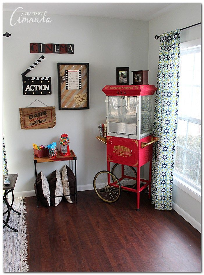 ideas theater decorating with for room home decor movie