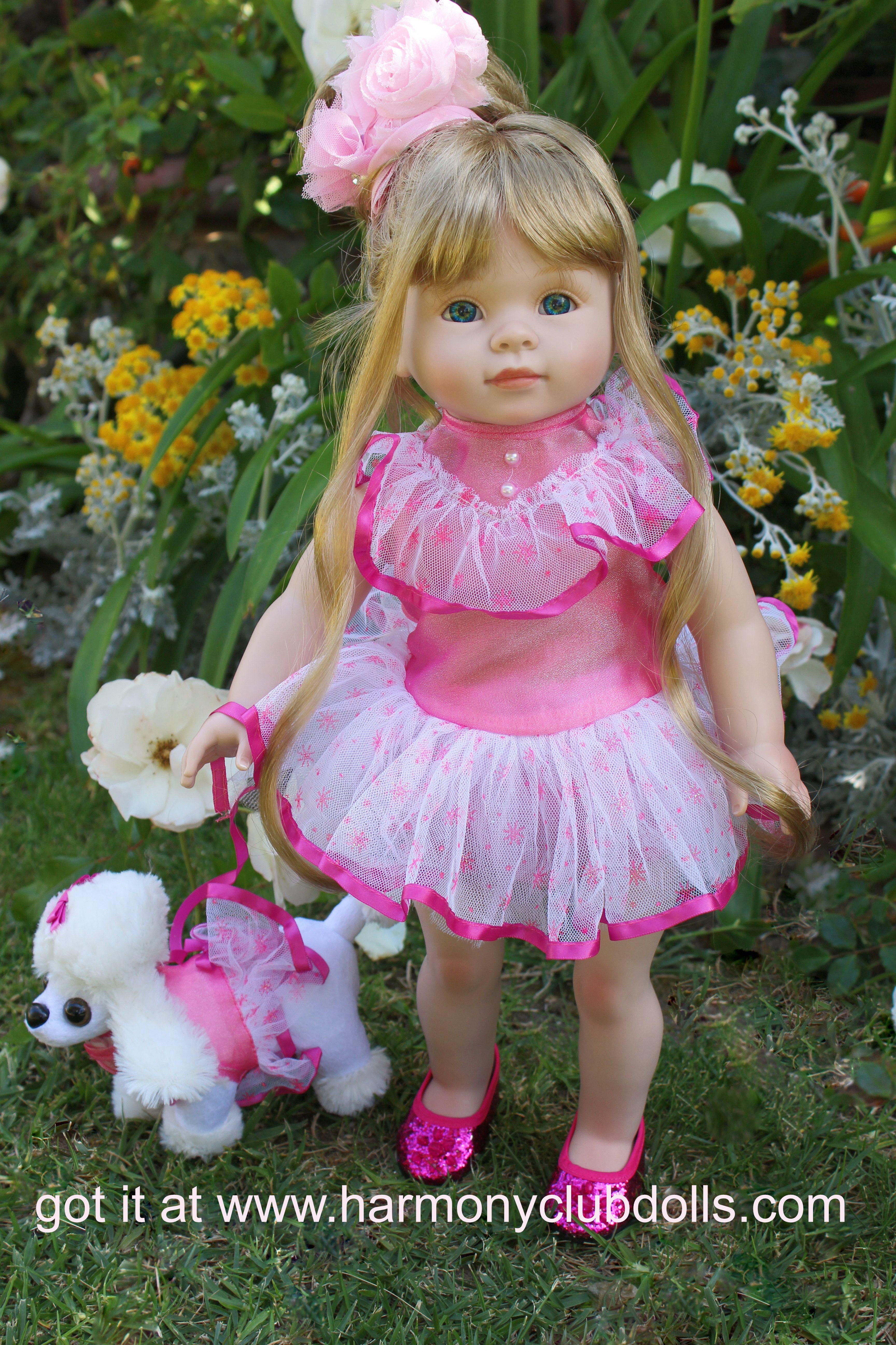 "HARMONY CLUB DOLLS 18"" Dolls and 18"" Doll clothes to fit American Girl. Visit www.harmonyclubdolls.com"
