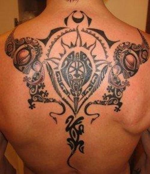 Maori back tattoo thecheapjerseys Image collections