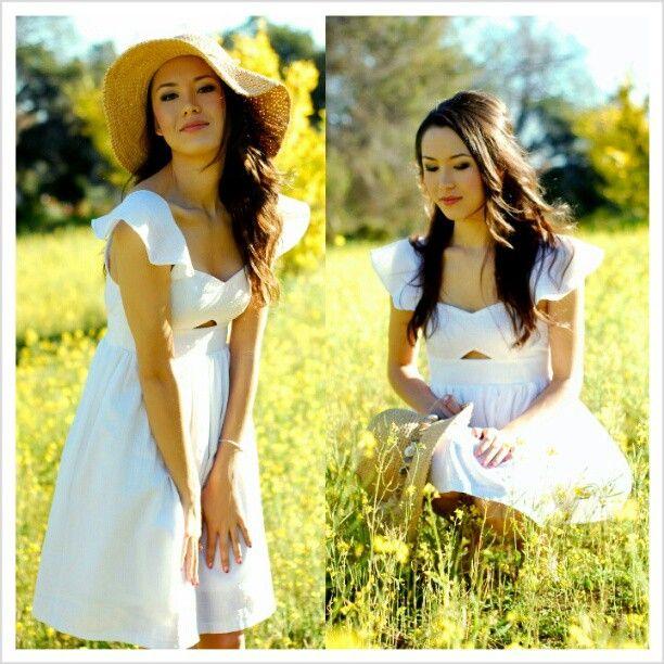 #tbt sweet #summers day, #flowers and #Meadows @vivaveritas #dress #Padgram