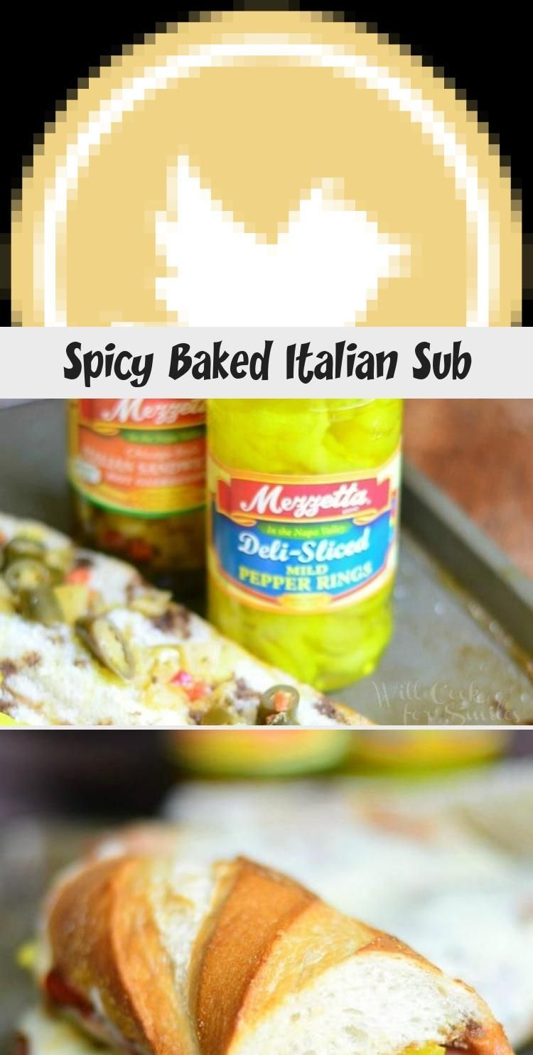 Photo of Spicy Baked Italian Sub – Sandwich –  Spicy Baked Italian Su…