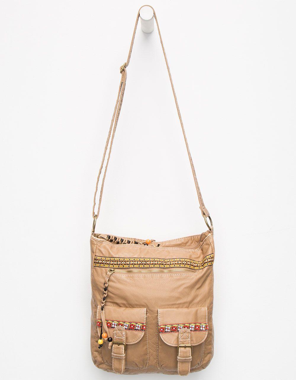 Ethnic Pocket Tote Bag 255972412 | Handbags
