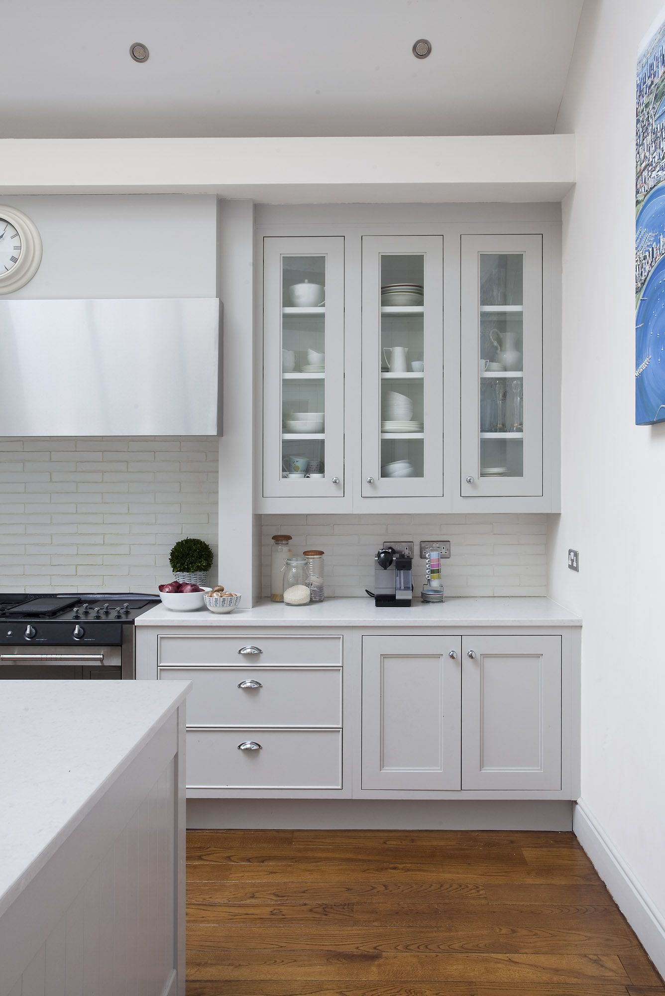 This City Residence Features New England Kitchen Design Creating Homely  Space For The Also Rh Pinterest