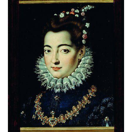 Portrait Of A Dame Canvas Art - (24 x 36)