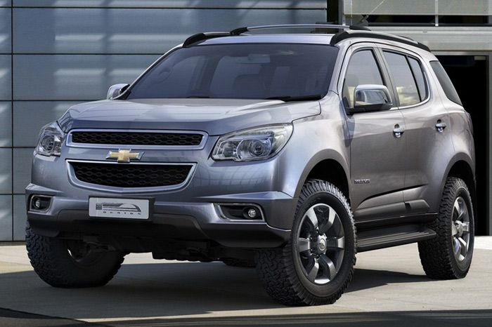 Chevrolet Brings Trailblazer Suv In India For Testing With Images Chevrolet Trailblazer