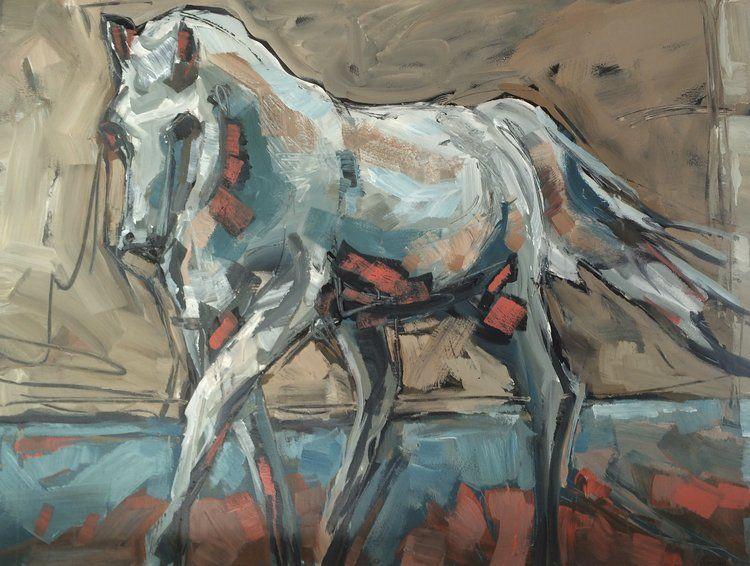 Pin by Robyn Teske on Artist Van Sickle, Jill Horse