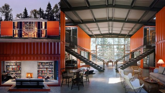 12 Container House By Adam Kalkin. Single Family Prefab Sustainable Modular  Home Made Out Of 12 Shipping Containers. The Premiere Shipping Container ...