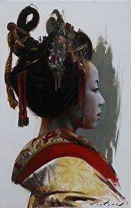 Tayuu by artist Phil Couture. #art found on the FASO Daily Art Show - http://dailyartshow.faso.com