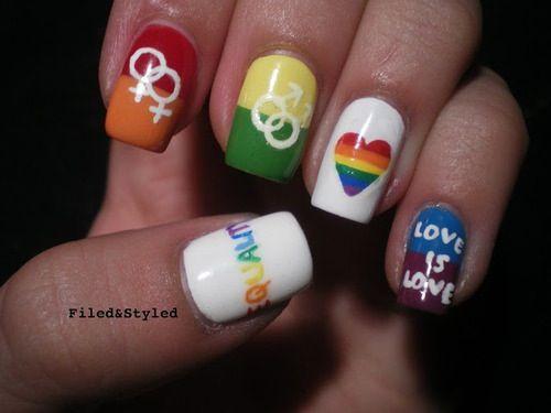 Lesbian nail art