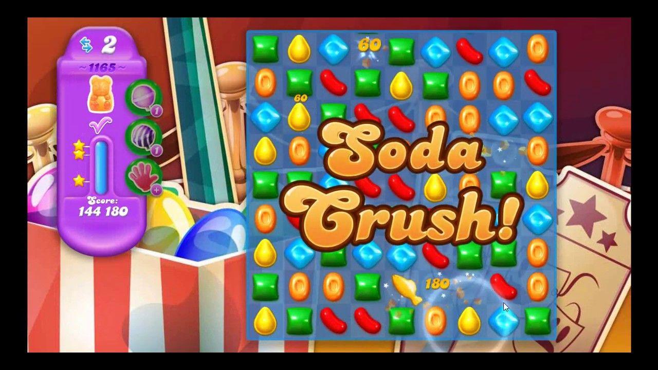 Candy Crush Soda Saga Level 1165 Hard Level with Daily ...