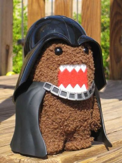 Darth Domo, it's so cute!