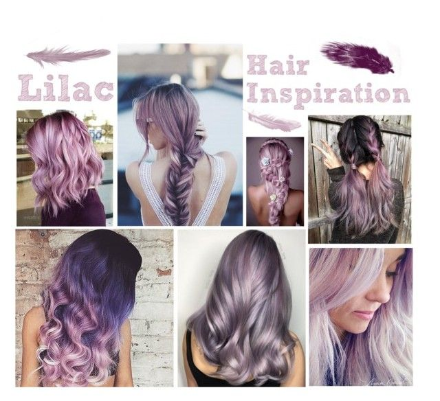 """""""Hair Inspiration: Lilac"""" by adsouza614 ❤ liked on Polyvore featuring art"""