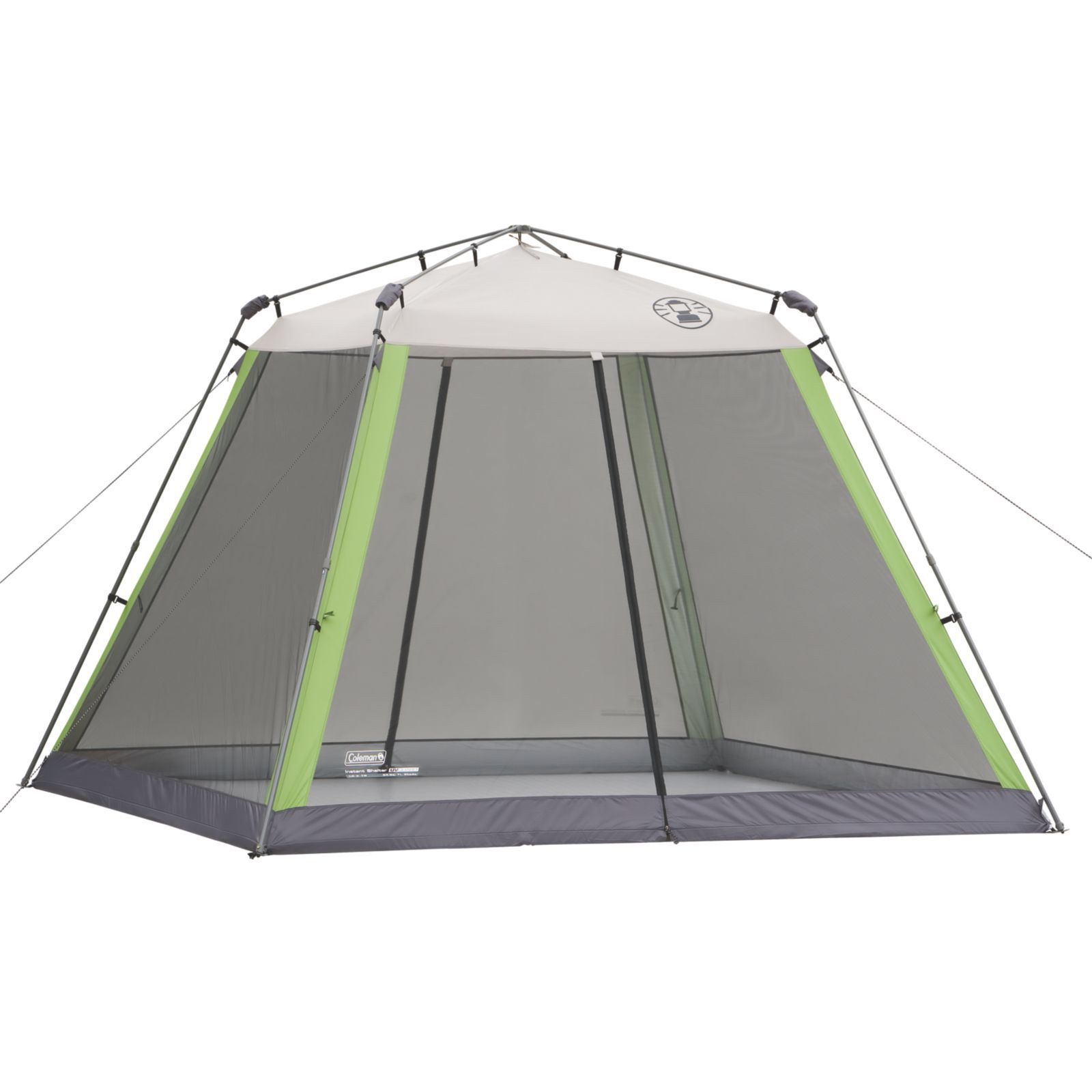 Coleman 10x10-foot Instant Screen Shelter, Silver