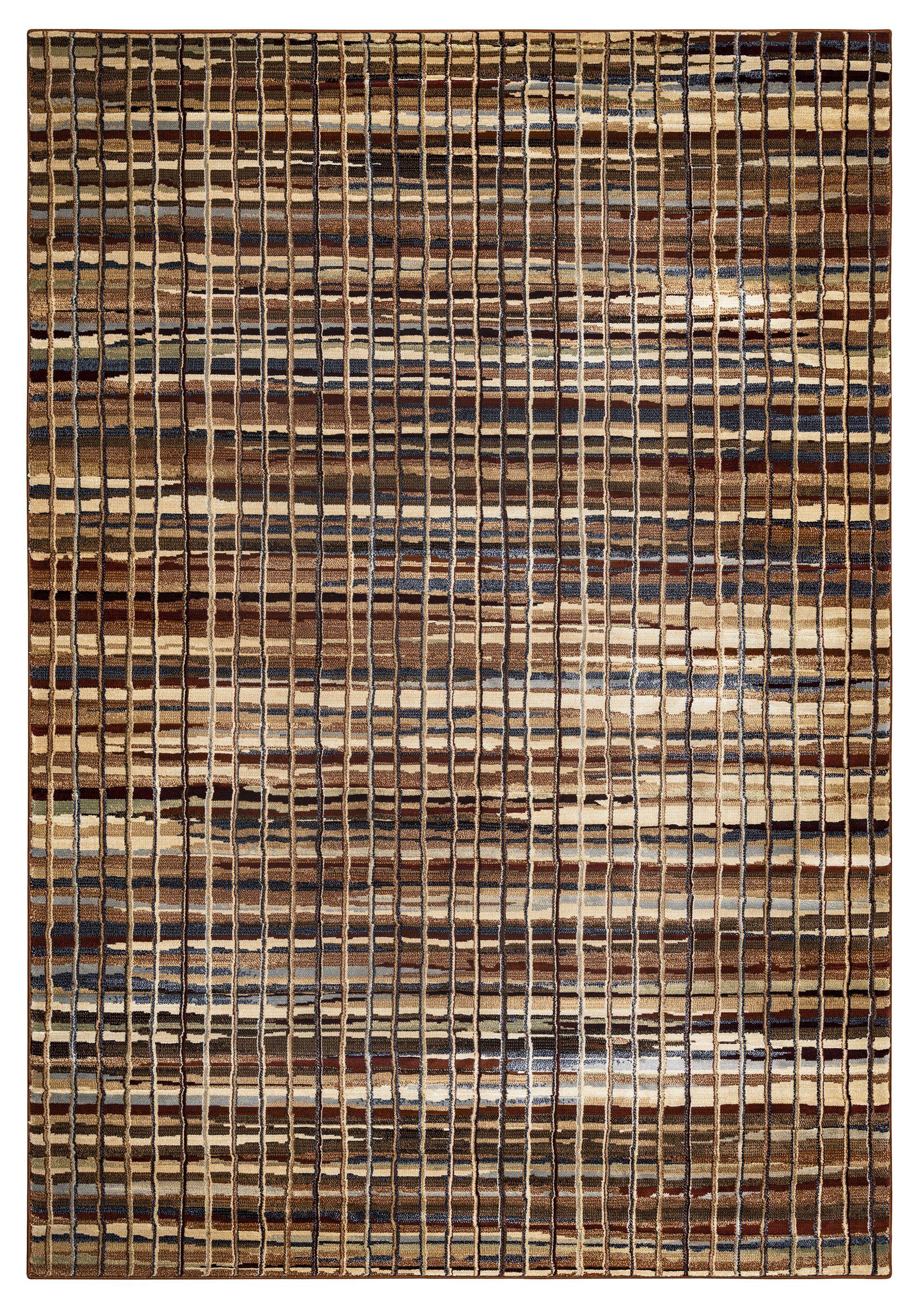 Rizzy Home Bennington BI4633 Brown Stripes Area Rug