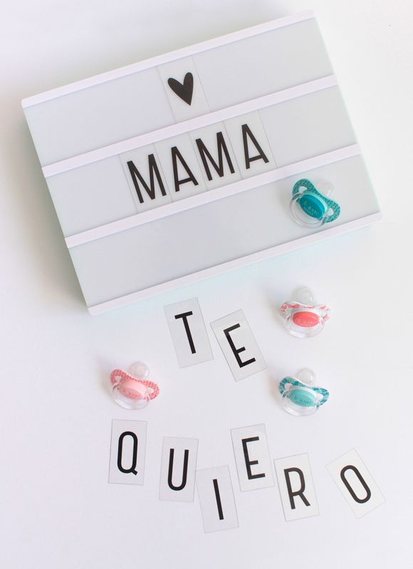 Románticos diseños para que tu bebé proclame el amor hacia su mami ...