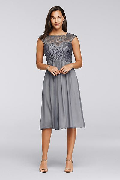 Charcoal Mother of Groom Dresses