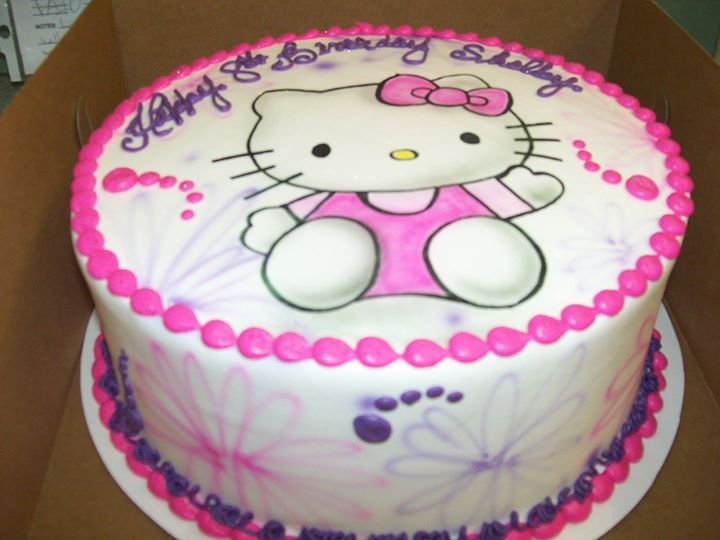 Hello Kitty Girls Birthday Find This Pin And More On Cartoon Character Cakes