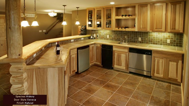 assembled+hickory+kitchen+cabinets | Hickory Wood Cabinets - Do it ...
