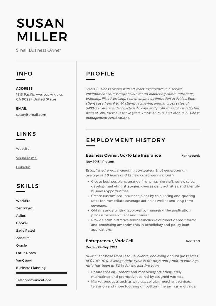 basic resume examples  minimalist resume examples