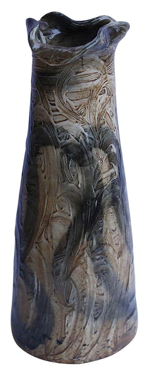 Bulk Wholesale Rustic Tear Drop Shaped Handmade Ceramic Vase