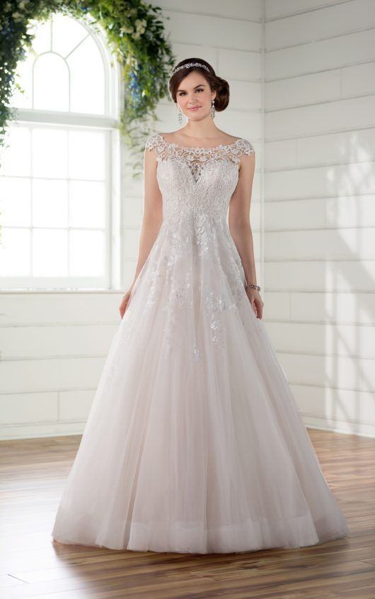 Formal wedding dress with beaded and long train junglespirit Gallery