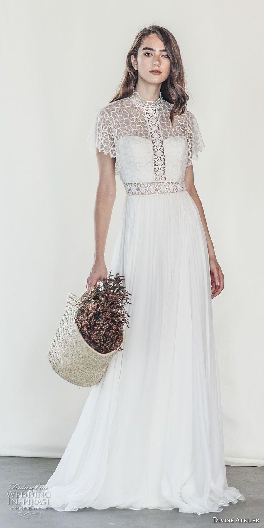 Short Illusion Sweetheart Wedding Dress