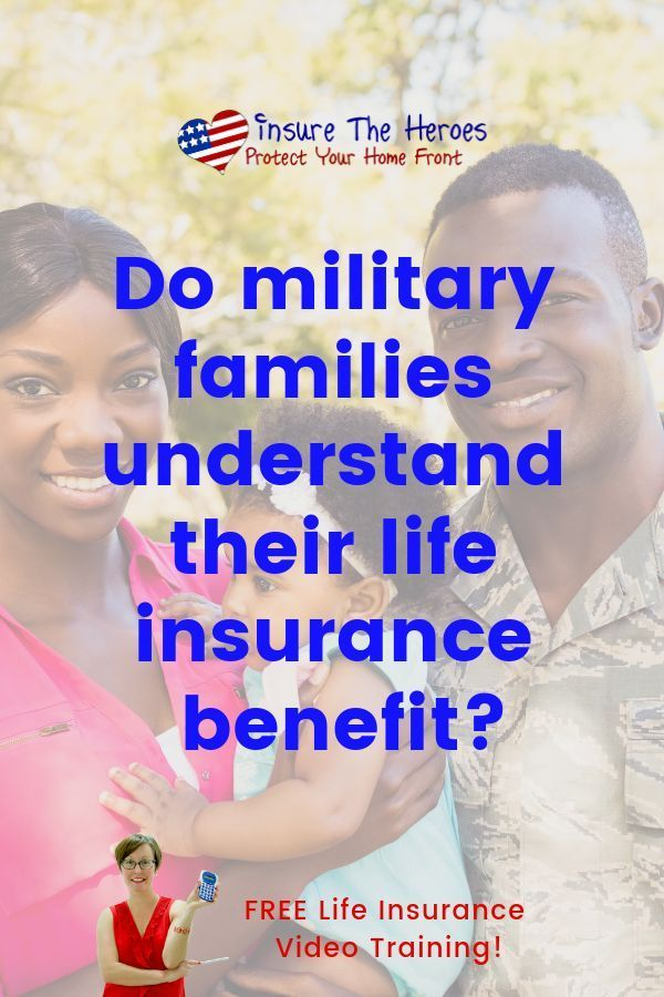 Military life insurance is a low-cost option for families ...