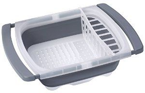 Amazon.com: Prepworks by Progressive by Progressive Collapsible Over-The-Sink Dish Drainer: Home & Kitchen