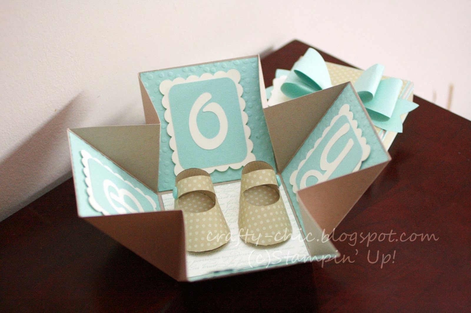 Crafty Chic Stampin' Up Blog, Stamp Crazy: Exploding box