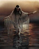 Lee Bogle - Golden Reflections  Giclee on Canvas