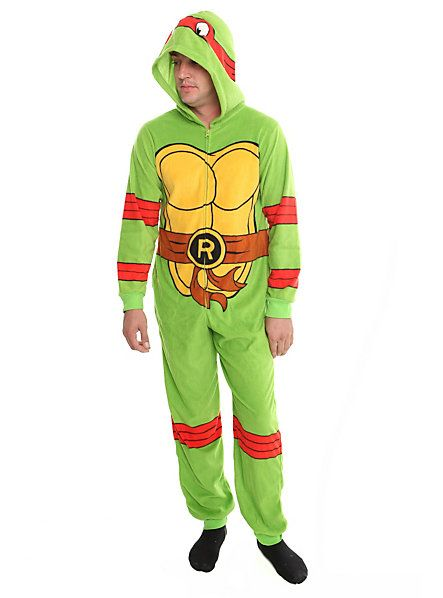 c93e30d37 Teenage Mutant Ninja Turtles Raphael Hooded Pajamas