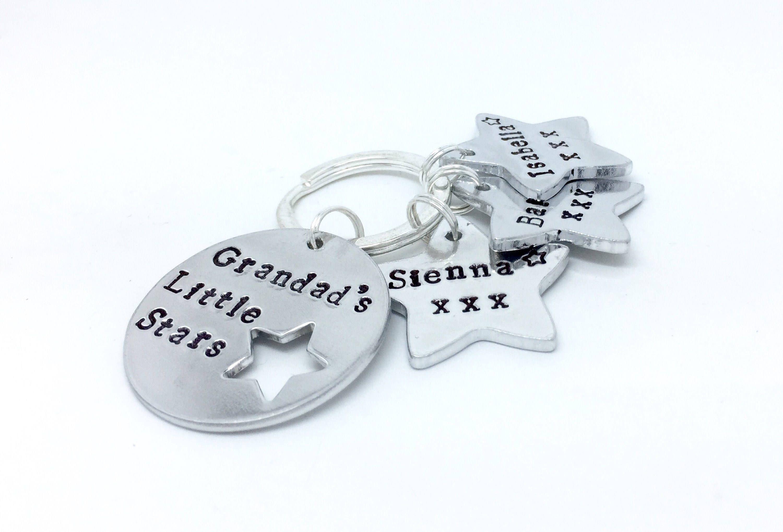 Grandpa Keychain,Grandpa Gift,Father/'s Day Gift,Grandad Gift,Grandfather Keyring