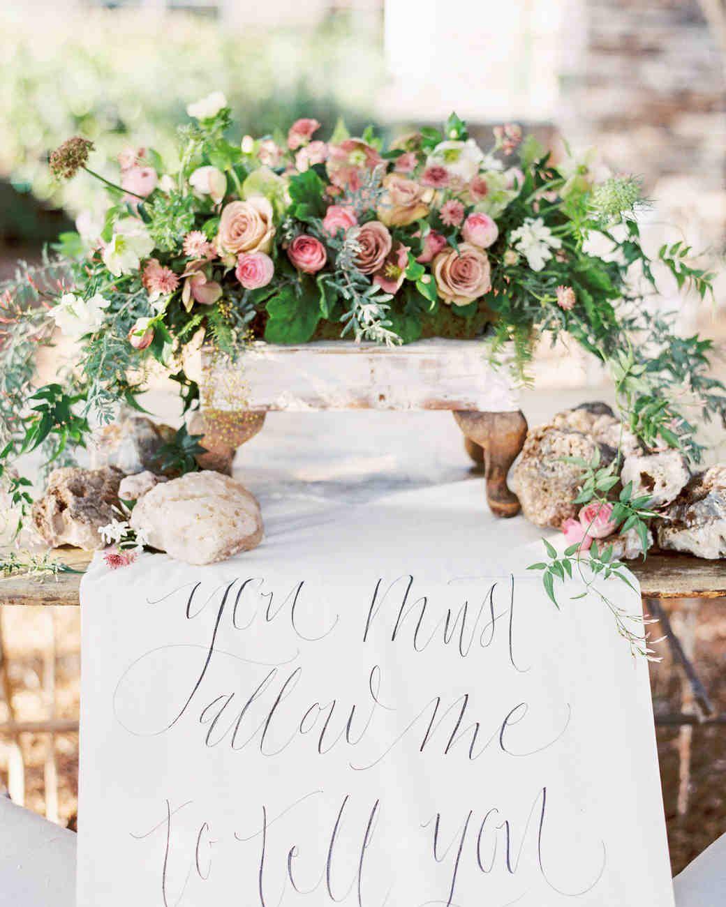 Pink Wedding Centerpieces We Love | Martha Stewart Weddings - A ...