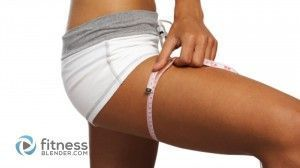 How to get Skinny Thighs – Can you go from Muscular Thighs to Slim Thighs