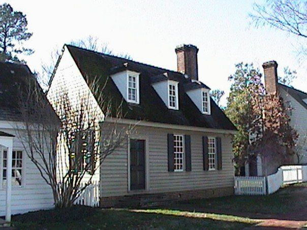 The Richard Crump House Is Named For Its Late 18th Century Owner The Reverend Mr Colonial Williamsburg Virginia Colonial Williamsburg Va Colonial Williamsburg