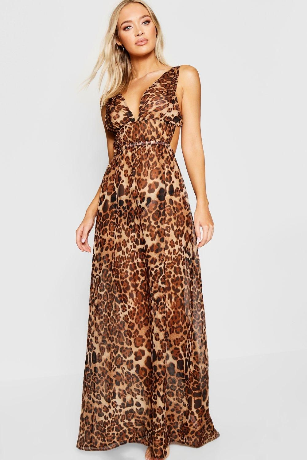 fe5e00489d3 Click here to find out about the Leopard Print Beach Maxi Dress from Boohoo,  part of our latest SALE collection ready to shop online today!